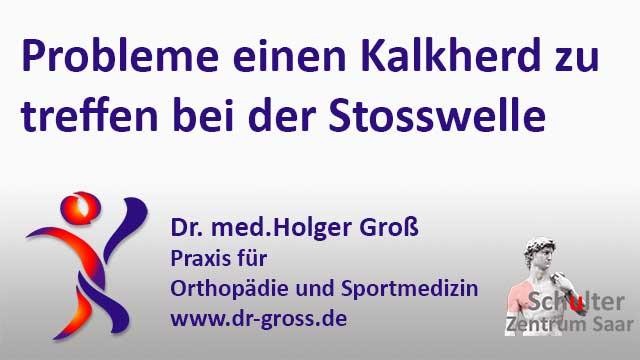 Stoßwellentherapie bei orthopädischen Erkrankungen